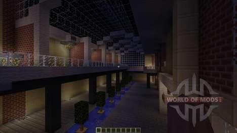 U-Plex Shopping Center Massive Modern Mall for Minecraft