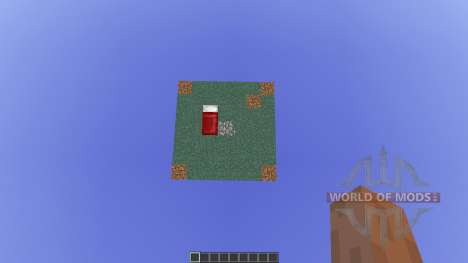 Floating Map Base for Minecraft