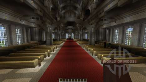 The Robarian Cathedral for Minecraft