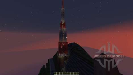 Hollywood California for Minecraft