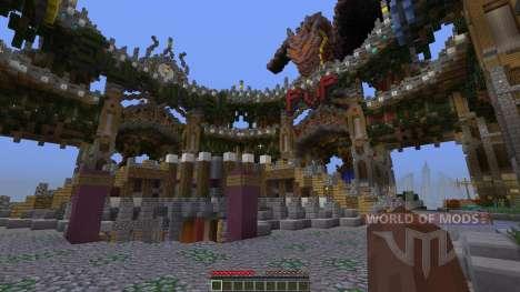 Spawn Hub structure for Minecraft
