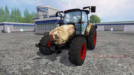 Hurlimann XM 4Ti camouflage for Farming Simulator 2015