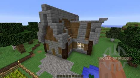 Medieval House Farm for Minecraft