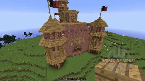 Awesome castle for Minecraft