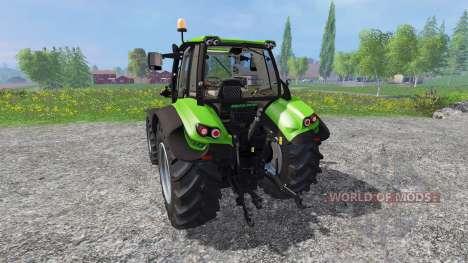 Deutz-Fahr Agrotron 6140.4 v2.0 for Farming Simulator 2015