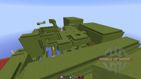 The Green Anti-Chamber Inspired for Minecraft