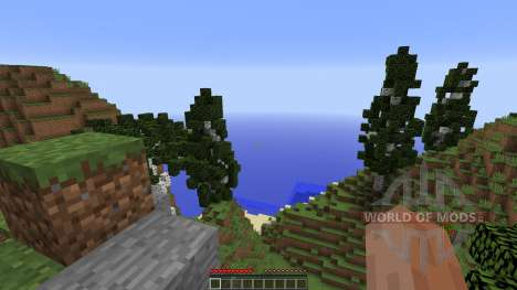 Custom Terrain Archipelago V2 for Minecraft