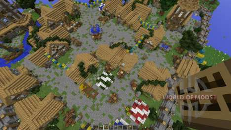 The Town of Noxhen for Minecraft