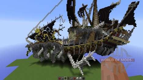NIGHTMARE Fantasy Ship for Minecraft