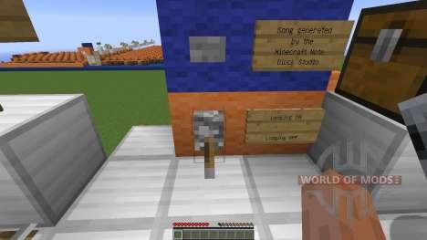 Minecraft Note Block Song: Sandstorm Darude for Minecraft