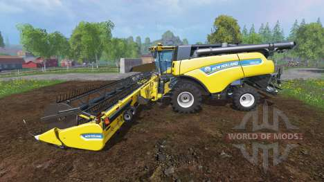 New Holland CR10.90 [front twin wheels] for Farming Simulator 2015