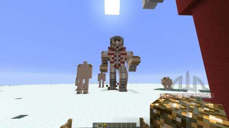 shingeki no kyojin for Minecraft
