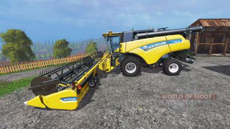 New Holland CR10.90 [front single wide wheels] for Farming Simulator 2015