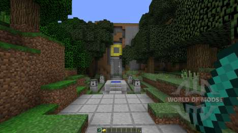 The Temple of Notch for Minecraft