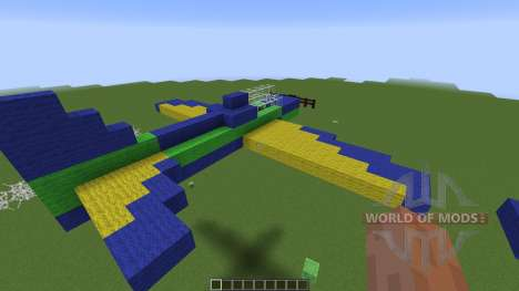Brazilian Smoke Squadron T27 for Minecraft