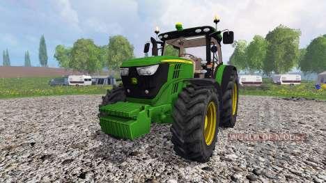 John Deere 6170R v3.5 for Farming Simulator 2015
