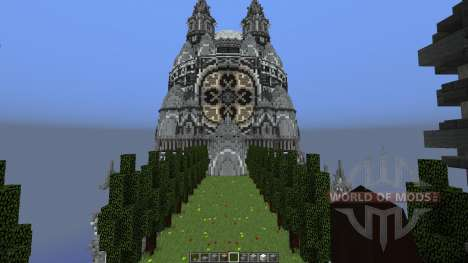 The Build Sea Dragon Palace for Minecraft