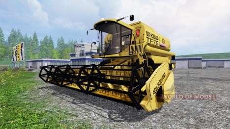 New Holland TF78 v1.1 for Farming Simulator 2015