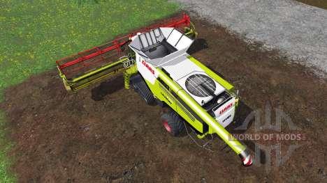 CLAAS Lexion 780TT [dirt] for Farming Simulator 2015