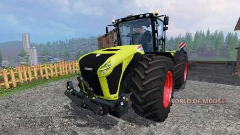 CLAAS Xerion 4500 v2.0 for Farming Simulator 2015