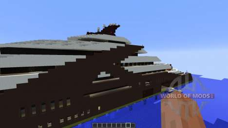 Independence Superyacht for Minecraft