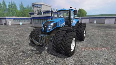 New Holland T8.435 v3.5 for Farming Simulator 2015
