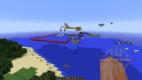 Boat Arrow Puzzle for Minecraft