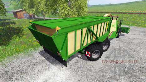 Krone Big X 650 Cargo [120000 liters] for Farming Simulator 2015