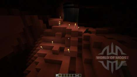 Mars Biome MASSIVE UNDERGROUND CAVES for Minecraft