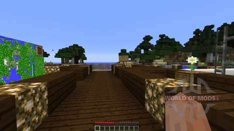 Modern pick City for Minecraft