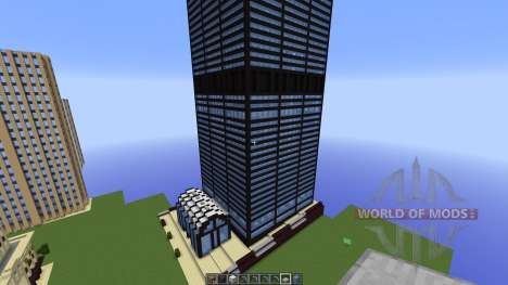 FAMOUS U.S. BUILDINGS for Minecraft