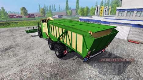 Krone Big X 650 Cargo v4.0 for Farming Simulator 2015