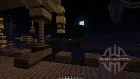 Aurora Roller Coaster for Minecraft