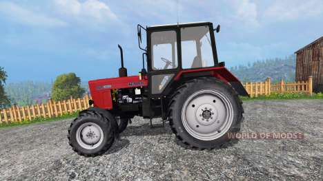 MTZ-82.1 Belarus red for Farming Simulator 2015