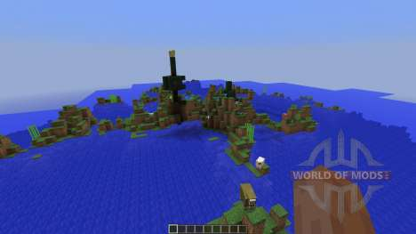 Outstanding Isles for Minecraft