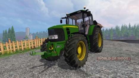 John Deere 6830 Premium FL v3.5 for Farming Simulator 2015