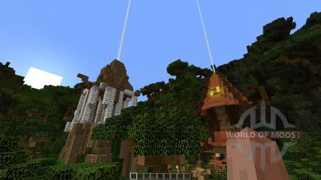 Among the Treetops for Minecraft