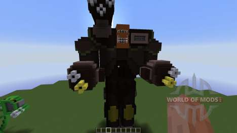 Ragnarok Mech for Minecraft