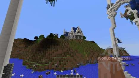 Berinstar Elven City for Minecraft