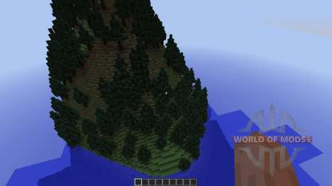 The 5 mountains for Minecraft
