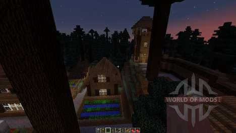 Forest hills village for Minecraft