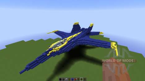 US Navy Blue Angle for Minecraft