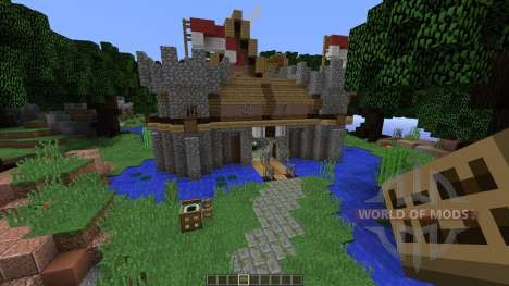 Medieval town for Minecraft
