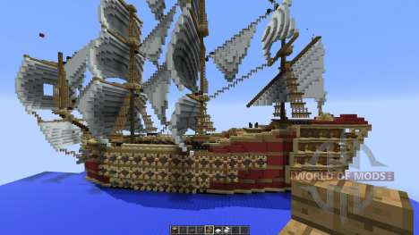 7 ships for Minecraft