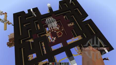 Pacman-Multiplayer new map for Minecraft