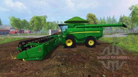John Deere S680 [Brazilian] for Farming Simulator 2015