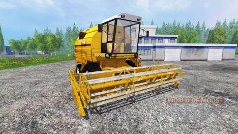 Bizon Z083 [yellow] for Farming Simulator 2015