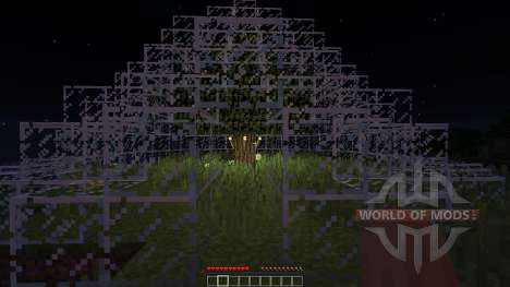 Darkness Dome Plains Version for Minecraft