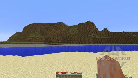DAYZ 5000x5000 map few towns for Minecraft