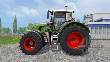Fendt 936 Vario SCR with the counterweight for Farming Simulator 2015